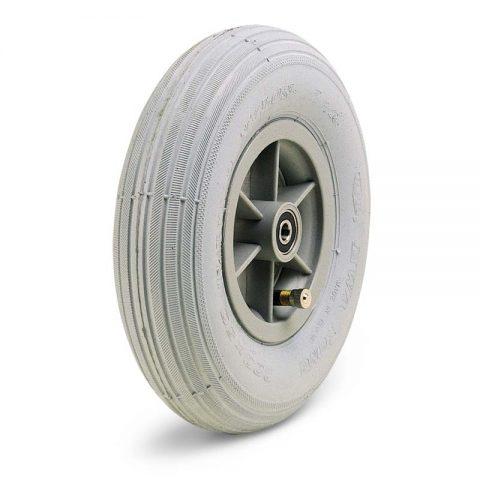 Kолелo  за инвалидни колички  175mm от пневматична гумаи Двоен сачмен лагер