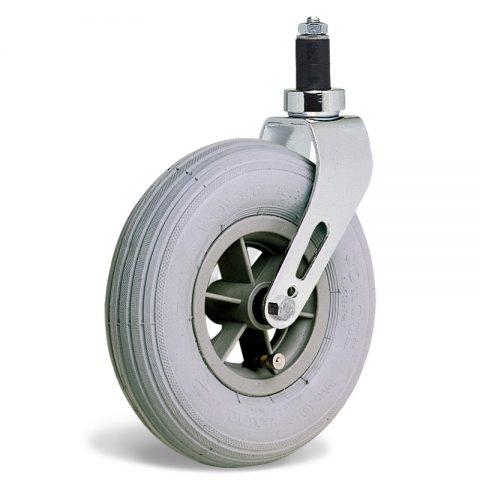 Kолелo  за инвалидни колички  200mm от пневматична гумаи Двоен сачмен лагер ,разширяващ