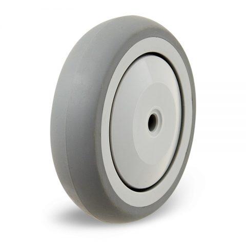 Kолелo 125mm  от Сива гума  Без лагер