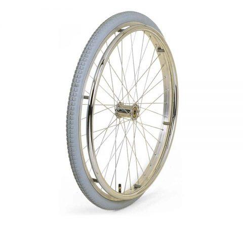 Kолелo  за инвалидни колички  500mm  от пневматична гумаи Двоен сачмен лагер  c метален спициран център