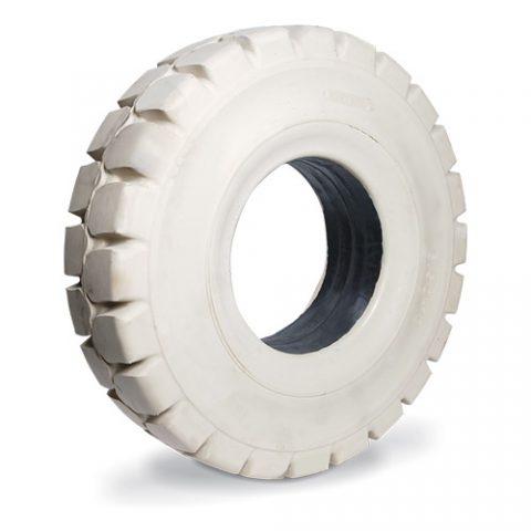 Назъбена солидна гъвкаво-еластична гума, размер 12.00-20 ширина на джантата 8.00 за чисти подове
